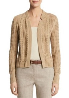 Textured Notch Collar Jacket