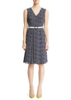 Waverly Dot Georgette Dress