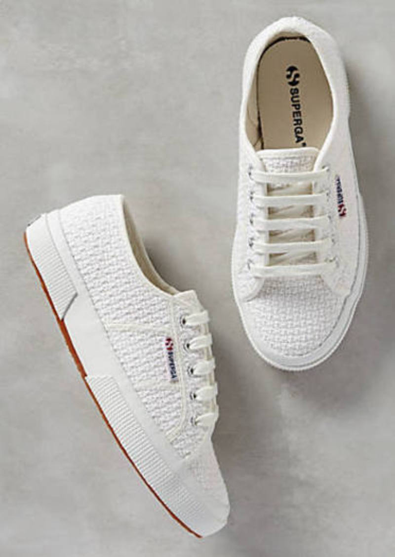 anthropologie superga crochet sneakers shoes shop it to me. Black Bedroom Furniture Sets. Home Design Ideas