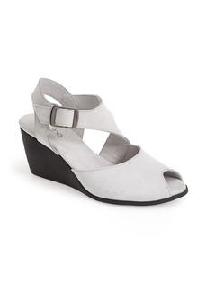 Arche 'Egwaro' Nubuck Wedge Sandal (Women)