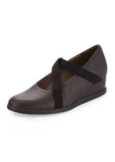 Arche Noury Vachetta Demi-Wedge Slip-On, Cafe