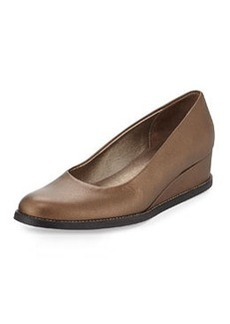 Arche Nuroy Metallic Leather Slip-On, Bronze