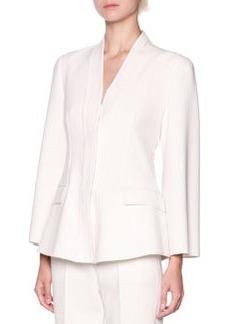 3/4 Bell-Sleeve Wool-Blend Jacket   3/4 Bell-Sleeve Wool-Blend Jacket