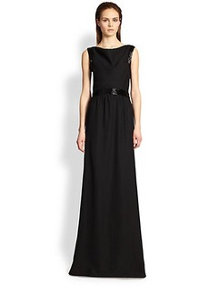 Armani Collezioni Cady Beaded Gown