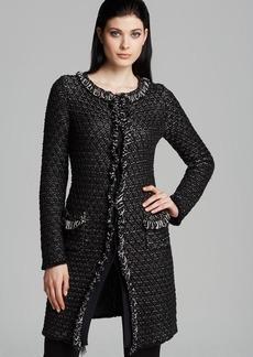 Armani Collezioni Coat - Textured