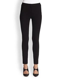 Armani Collezioni Double Face Jersey Ankle Pants