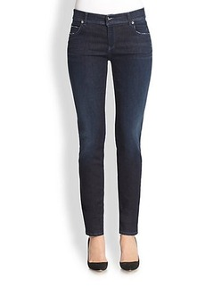 Armani Collezioni Five-Pocket Denim Jeans