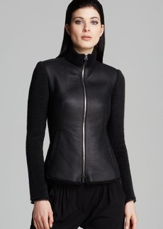 Armani Collezioni Jacket - Caban Leather