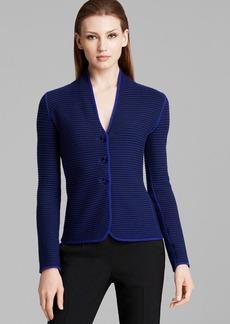 Armani Collezioni Jacket - Capospalla Textured Wool