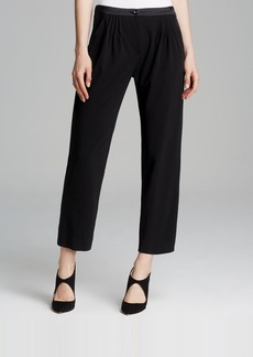 Armani Collezioni Trousers - Pleated Crop