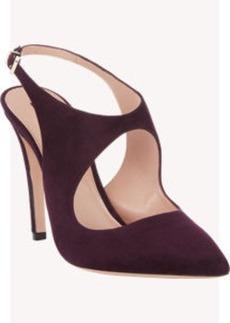 Armani Cutout Slingback Sandals