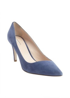 Armani gentiana suede pointed toe pumps