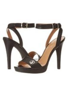 Armani Jeans 100mm Embossed Snake Sandal
