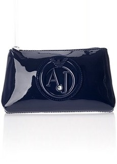 Armani Jeans 55 Patent Leather Cosmetic Case Bag