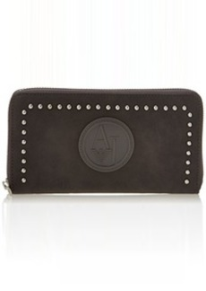 Armani Jeans ZY Studded Large Zip Wallet