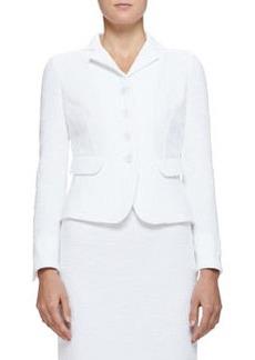 Cotton Boucle Suit Jacket   Cotton Boucle Suit Jacket