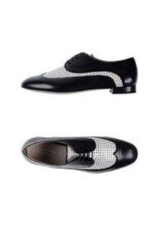 EMPORIO ARMANI - Laced shoes