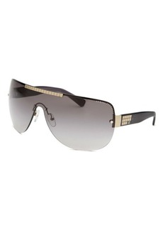 Armani Exchange Women's Shield Black Sunglasses