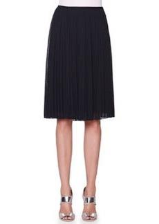 Full Plisse Crepe Skirt   Full Plisse Crepe Skirt
