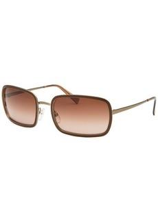 Giorgio Armani Women's Rectangle Brown Sunglasses