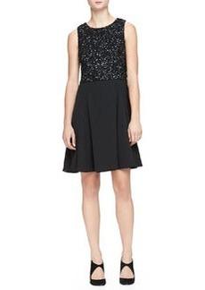 Sleeveless Beaded Dress   Sleeveless Beaded Dress