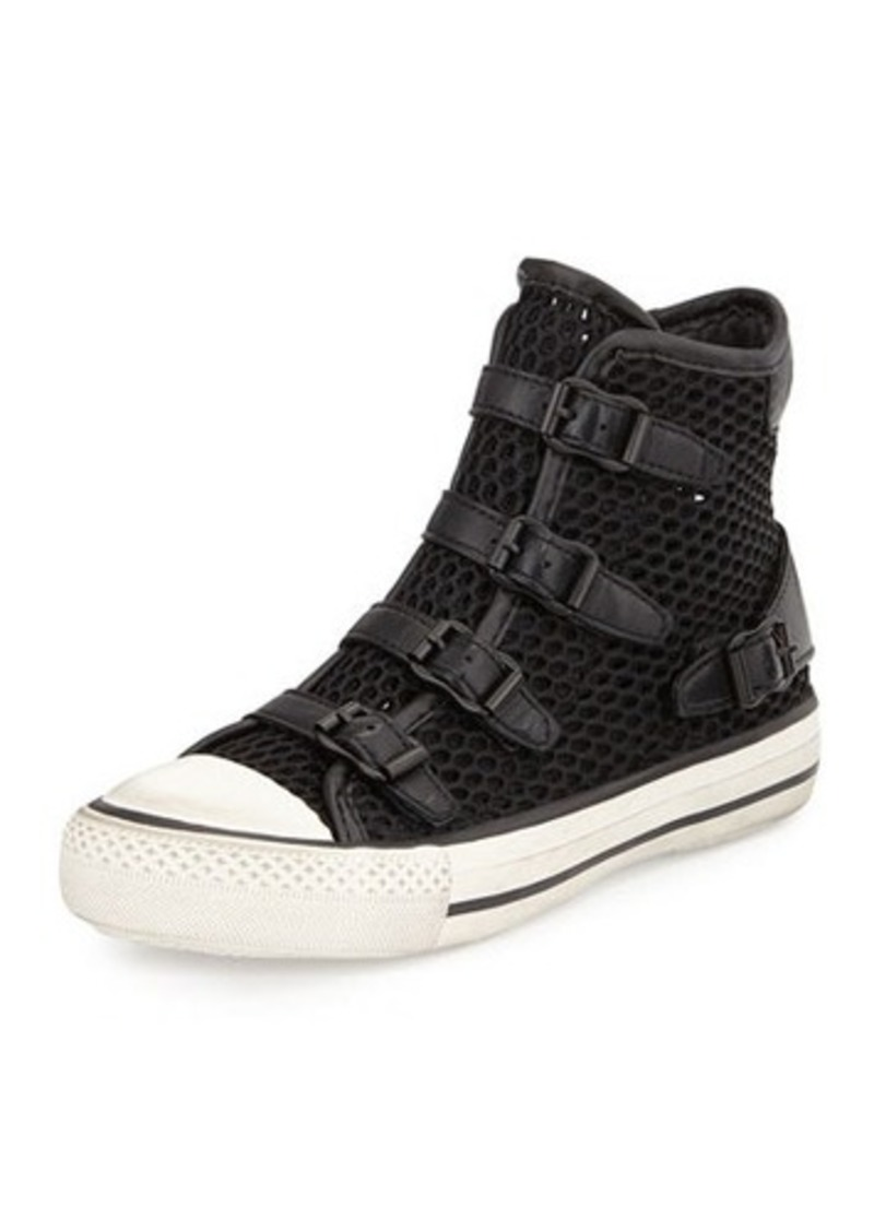 ash ash vanessa mesh high top sneaker shoes shop it to me. Black Bedroom Furniture Sets. Home Design Ideas