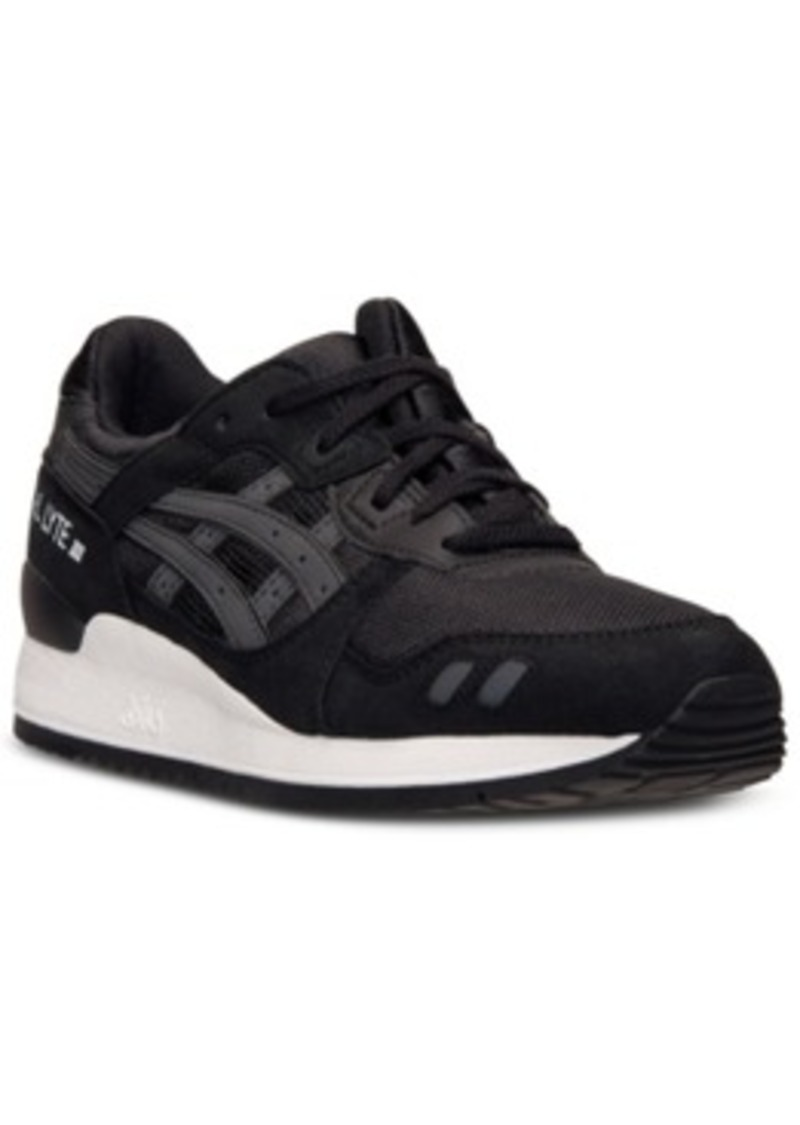 asics asics s gel lyte iii casual sneakers from finish