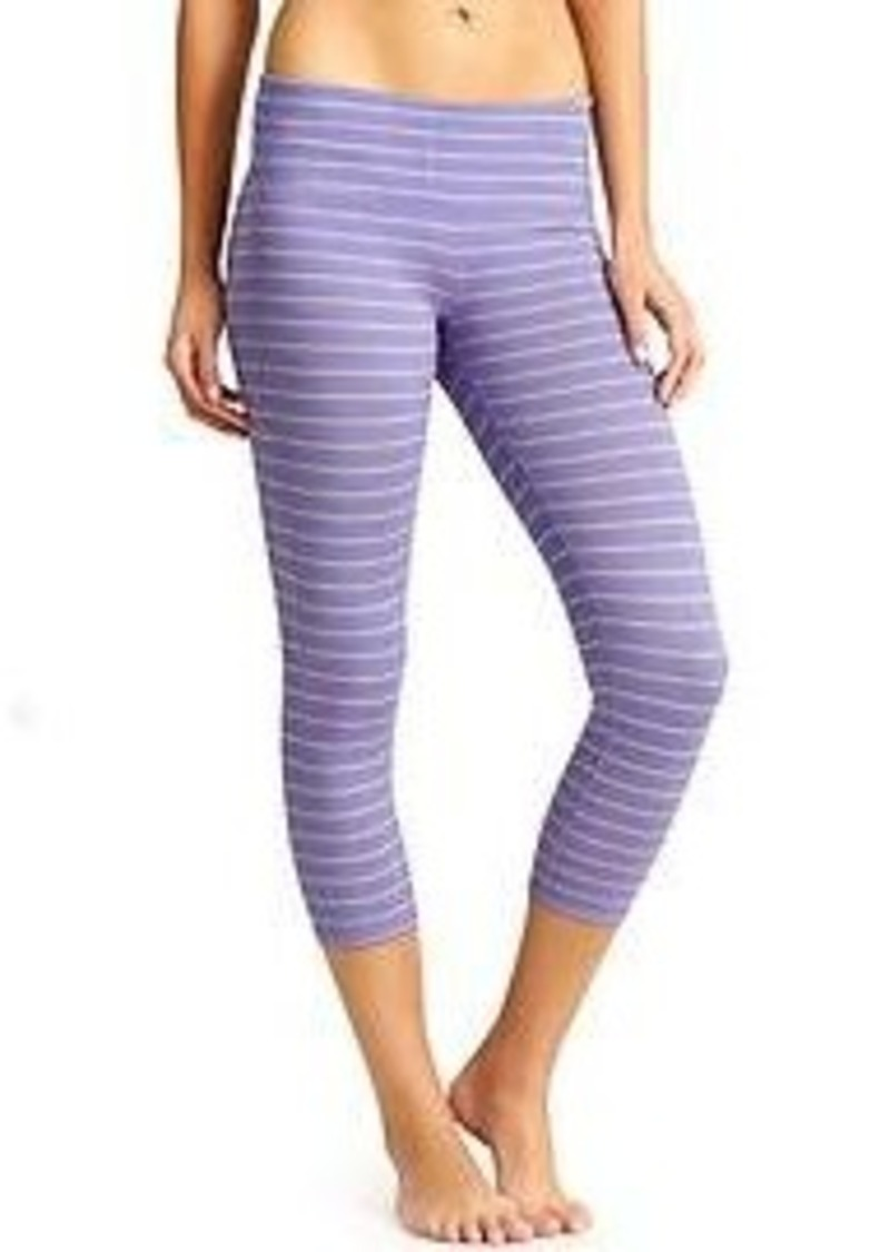 Athleta Stripes Chaturanga Capri Athletic Pants Shop