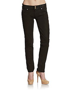 Hudson Collin Coated Skinny Jeans