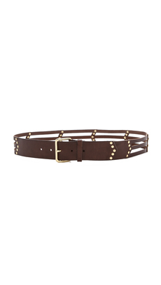 Linea Pelle Chevron Lattice Belt