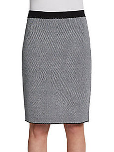 Saks Fifth Avenue BLACK Pencil Skirt