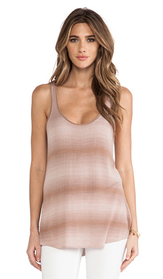 Soft Joie Heart B Tank in Brown