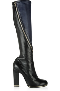 Jil Sander Two-tone leather boots