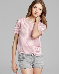 J Brand Tee - Walker Stripe
