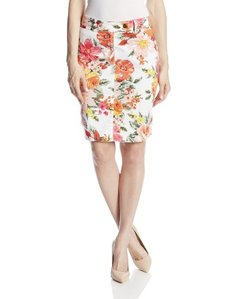 Jones New York Women's Extend Tab Slim Skirt with Pockets