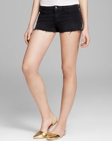 J Brand Shorts - Rita Cutoff in Alley Cat