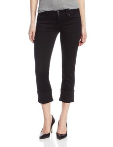 Hudson Jeans Women's Ginny Crop Jean In Black