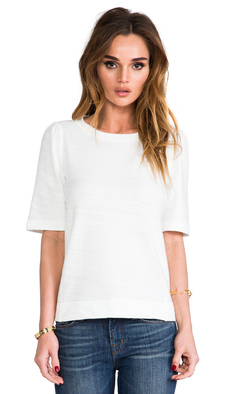 Ella Moss Tanya Top in White