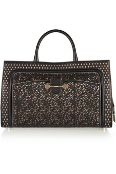 Jason Wu Daphne laser-cut leather tote