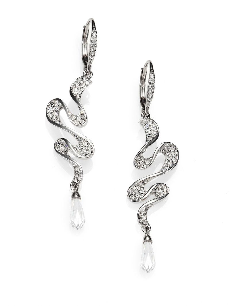 Adriana Orsini Faceted Ruffle Drop Earrings