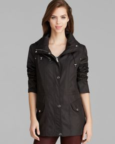 Marc New York Anorak - Rachel City Detachable Hood Rain