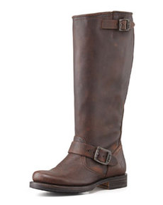 Frye Veronica Slouch Boot, Dark Brown