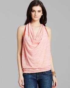 Michael Stars Top - Drape Neck
