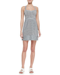 Runaway Sweetheart Striped Twill Dress   Runaway Sweetheart Striped Twill Dress