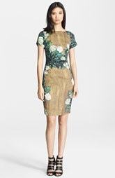 Tracy Reese Print Stretch Crepe Dress