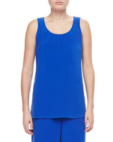Go Silk Longer Silk Crepe Tank, Women's