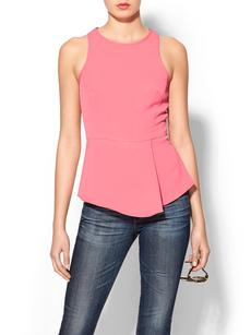 Tibi Racerback Draped Top