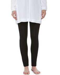 Liquid Jersey Basic Leggings, Black   Liquid Jersey Basic Leggings, Black