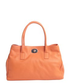 Furla vitamina orange leather 'New Appaloosa' large tote