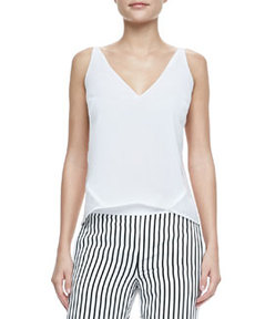 J Brand Ready to Wear Lucy Sheer-Back Top